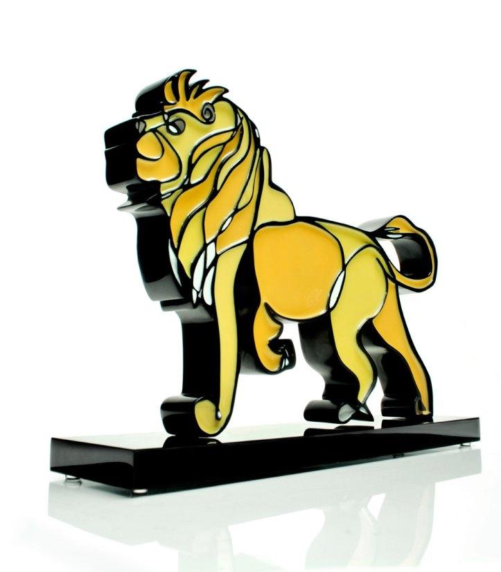 Sculpture Jason Oliva Lion