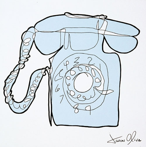 Phone Jason Oliva Painting 2004