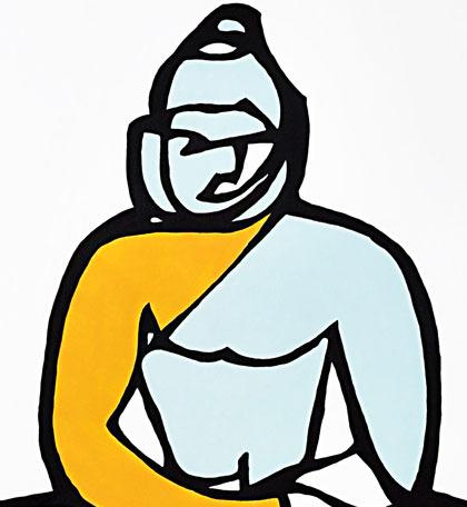 Buddha Jason Oliva Art Painting
