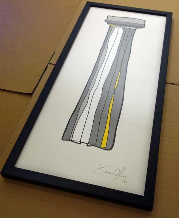 Column-Doric-Work--on-Paper-Jason-Oliva