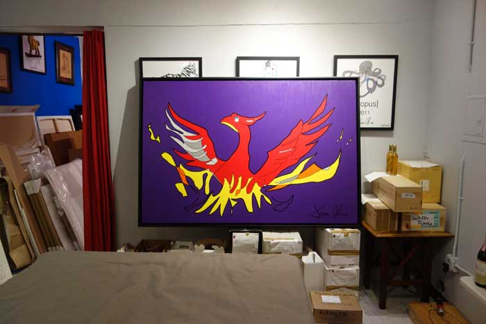 Phoenix 2015 painting by Jason Oliva