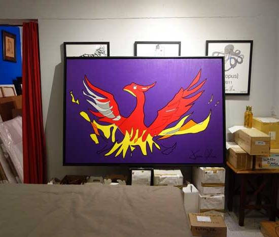 Phoenix 2015 painting by Jason Oliva