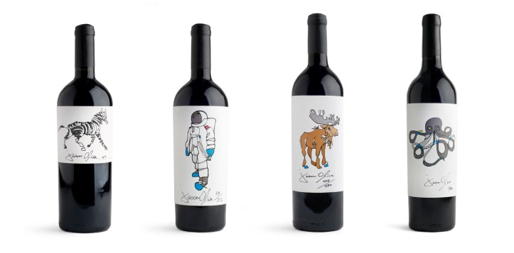 Inspired by the concept of 'Artist Wine Labels', Jason founded Jason Oliva [Wine] in 2010, an ongoing collaboration with South African wine maker Dirk Roos. Through the production of a yearly, limited-edition exclusive wine from Stellenbosch South Africa, Jason is able to showcase his artwork in the form of a visually arresting wine label, inspired by one of his paintings. Each vintage of wine is a unique Bordeaux style blend and every bottle is hand signed and numbered by Jason.