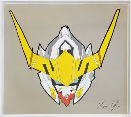 Gundam Barbatos Lupus Rex 2019 Painting by Jason Oliva