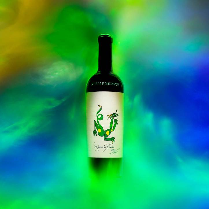 Jason Oliva Wine Dragon 2015 New Release for 2019