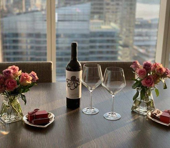Jason Oliva Wine Octopus 2010 romantic dinner