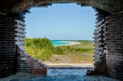One of the hundreds of views from the cannon emplacements.