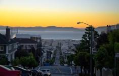 West Coast Sunset, San Francisco California