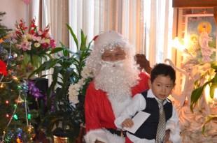 'What is this envelope Santa?!'