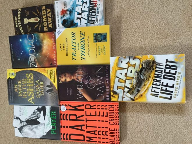 Signed SDCC2016 Books