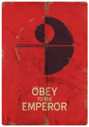 Star Wars Propaganda Posters - Cunaka