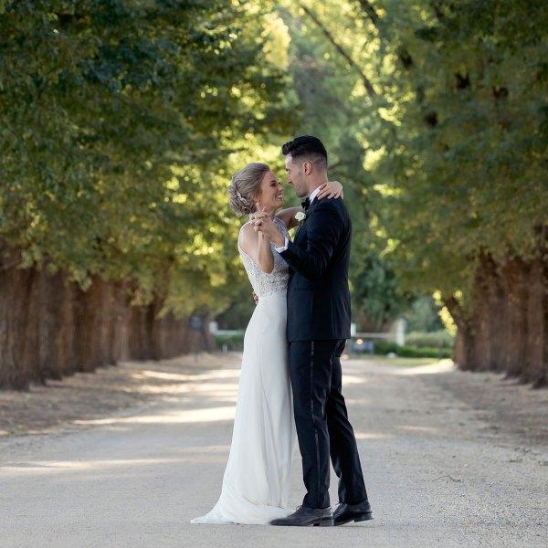 All Saints Estate Wedding Photography by Albury, Melbourne and Destination Wedding photographer Jason Robins
