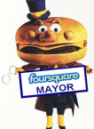 Foursquare McDonalds Mayor