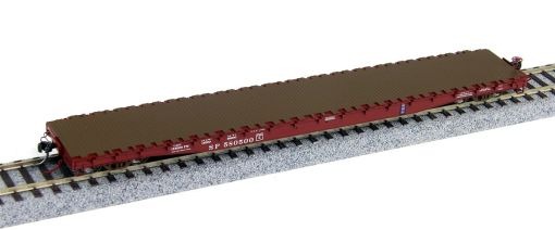 Wheels of Time HO Southern Pacific 62′ Plain Deck Car 40016