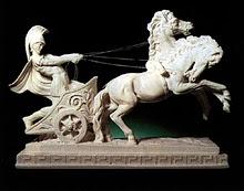 Greek charioteer Parmenides