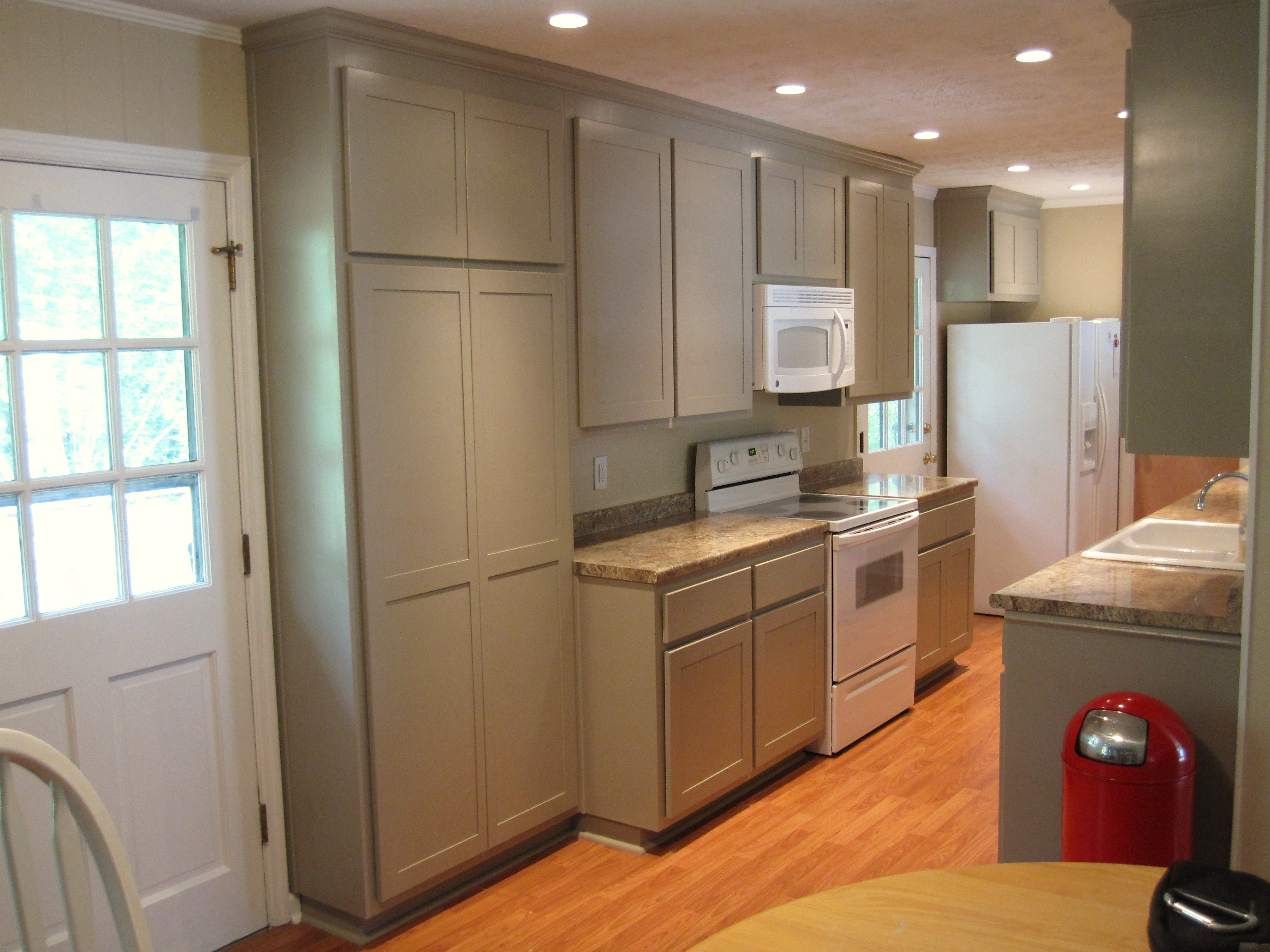 After Renovation Of 1970s Galley Kitchen Careys