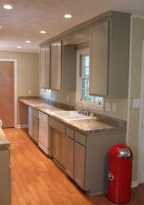 After Custom Kitchen Cabinet Remodel - Kitchen #2