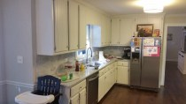 Before Custom Kitchen Cabinet Remodel - Kitchen #1