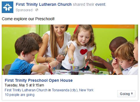 Preschool Facebook Ad 3