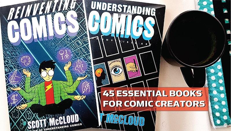 45 Essential Books for Comic Creators - Jason Thibault