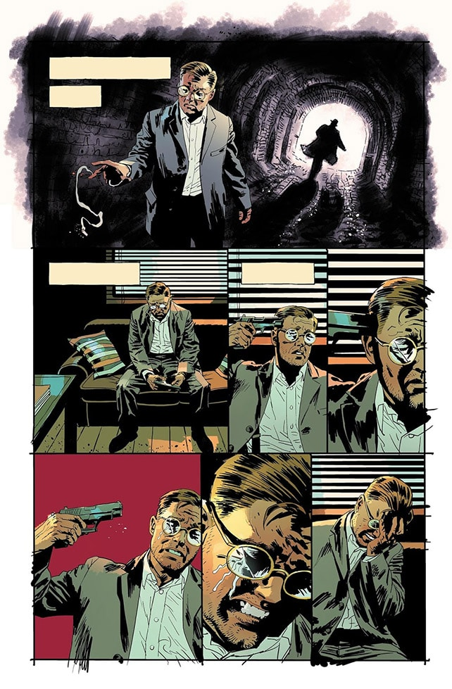 Elizabeth Breitweiser colors for The Fade Out