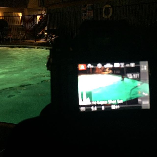 Trying my hand at a night time swim 1