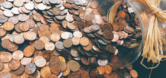 Income Streams - Jar of Coins