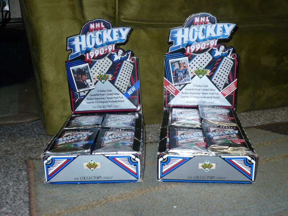 1990-91 Upper Deck Hockey Cards (1/6)