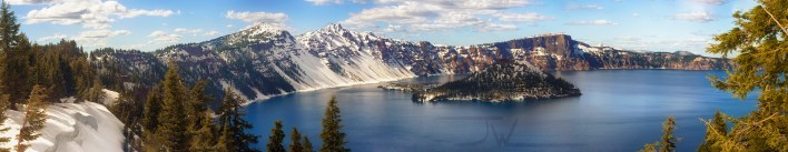 Crater Lakes West Rim