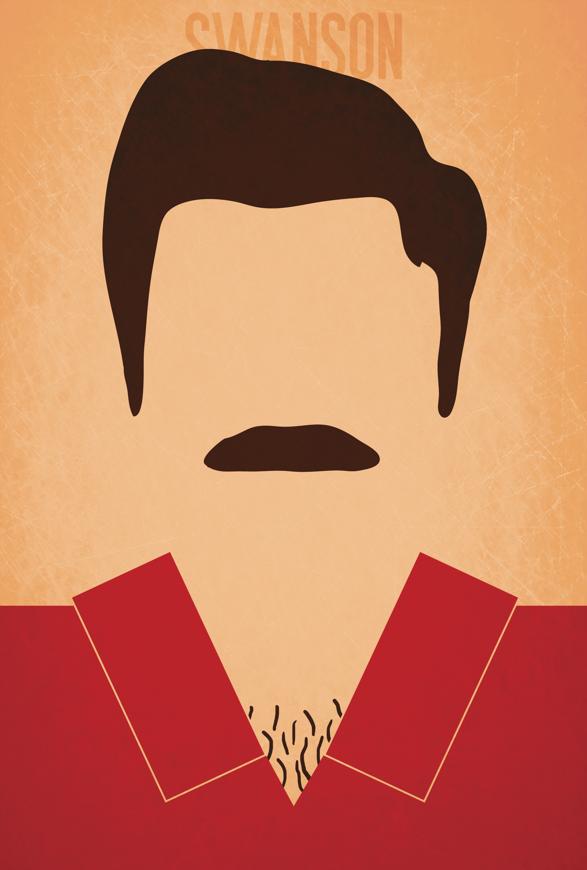 Ron Swanson - Minimalist Parks and Recreation Poster