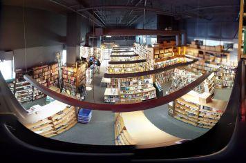 PBC bookstore balcony