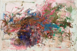 """Grandes Carrieres. 1961-62. Oil on canvas, 6' 6 3/4"""" x 9' 10 1/4"""". Gift of The Estate of Joan Mitchell. (443.1994) Image licenced to Chris Burnside CHEIM AND READ by Chris Burnside Usage : - 3000 X 3000 pixels (Letter Size, A4) © Digital Image © The Museum of Modern Art/Licensed by SCALA / Art Resource"""