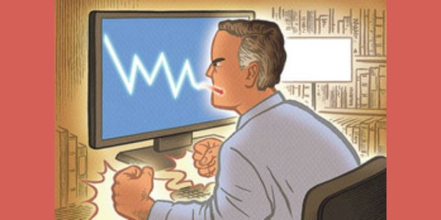 Too Flustered to Trade: A Portrait of the Angry Investor