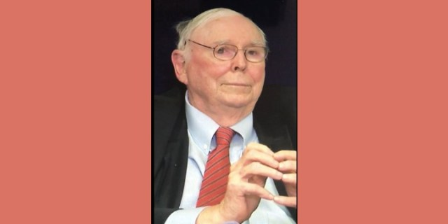 When Charlie Munger Calls, Listen and Learn