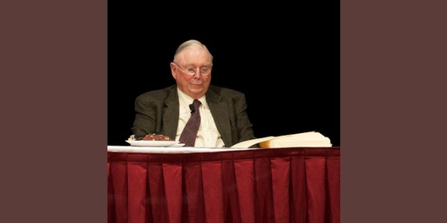 Charlie Munger: 'The Phone Is Not Ringing Off the Hook'