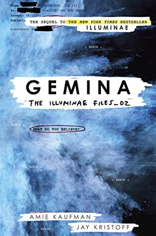 gemina book cover - Gemina by J.Kristoff + A.Kaufman | Review