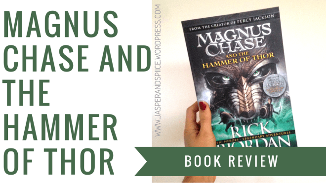 magnus chase and the hammer of thor review header image 1 - Yearly Wrap-Up, School Stories + Book Hauls!