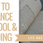 how to balance school and reading blog header - Huge June Book Haul!