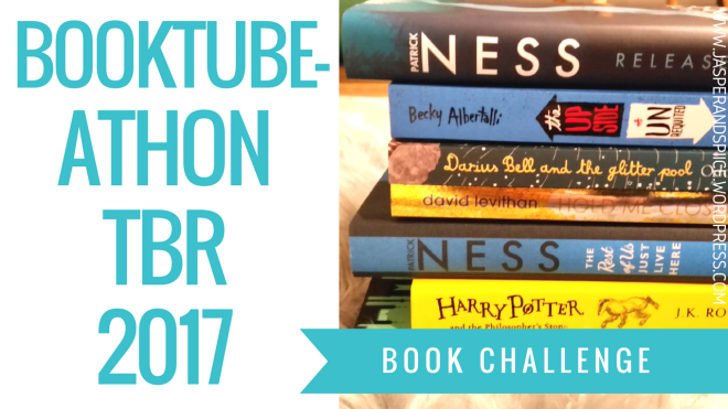 booktubeathon tbr blog header - BookTubeAthon TBR!