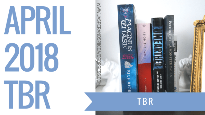 april tbr 2018 blog header - April 2018 TBR + Potential YouTube Channel?!