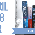 april tbr 2018 blog header - March Wrap-Up + Huge Book Haul!