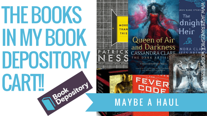 the books in my book depository cart 2018 blog header - What's In My Book Depository Cart???