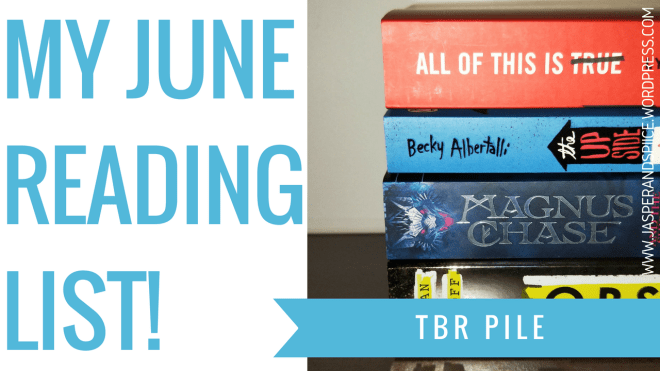 june tbr 2018 blog header - June TBR + YouTube Announcement