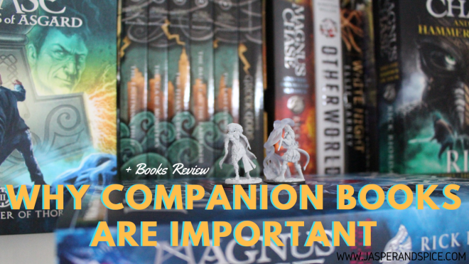 why companion books are important 2018 header - Why Companion Novels Are Important! Hotel Valhalla Review