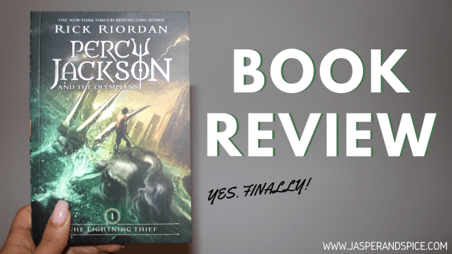 percy jackson and the lightning thief 2018 header - Percy Jackson and The Lightning Thief by Rick Riordan | Spoilery Book Review (1/5)