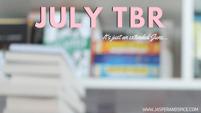 July TBR 2019 Header - July TBR 2019