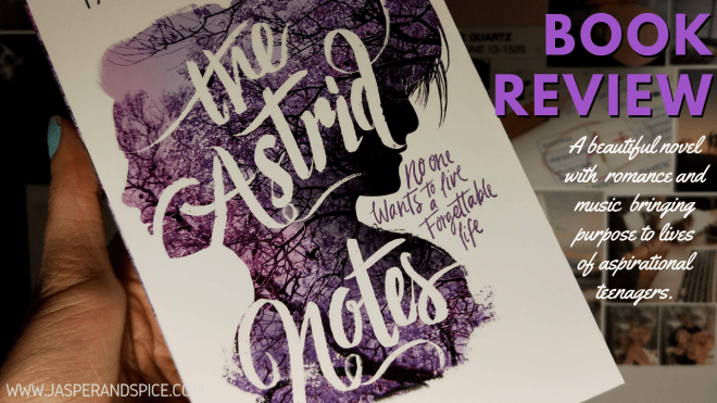 The Astrid notes book review 2019 Header - The Astrid Notes by Taryn Bashford | Spoiler Free Review