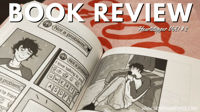 Heartstopper Volume 1 and 2 Book Review 2019 Header - Heartstopper Volumes 1 & 2 by Alice Oseman | Comic Book Review