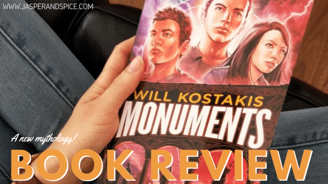 Monuments Book Review Semi Spoiler 2019 Header - Monuments by Will Kostakis | Semi-Spoiler Book Review