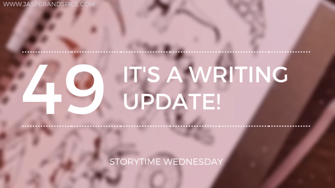 Writing Update Finally 4 and a half months later 2020 SW Header - Finally, A Writing Update! 4.5 Months Into Draft 1 (SW#49)